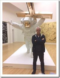 astronaut en Joop