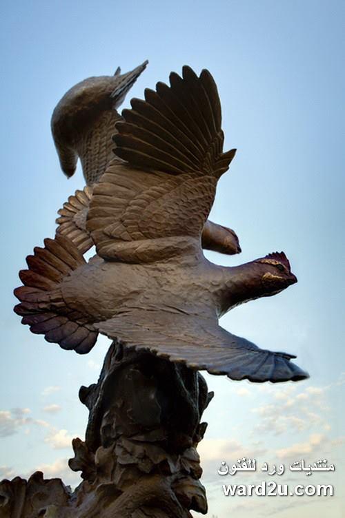 الحياة البرية رؤية رومانسية فى منحوتات برونزية للفنان Eric Slocombe