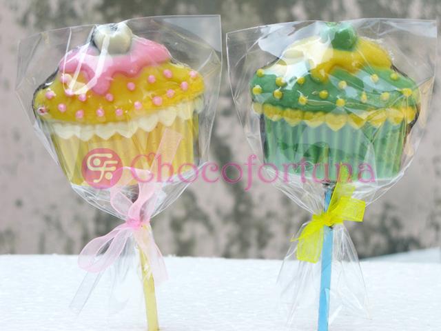 Cokelat coklat lolipop kue cupcake cake birthday