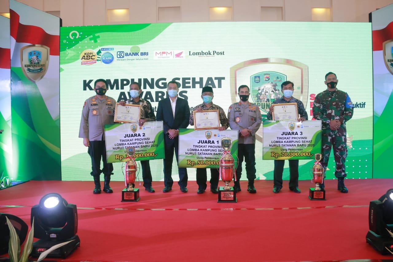 Nama Desa Peraih Anugerah Kampung Sehat Nurut Tatanan Baru Awards Kapolri
