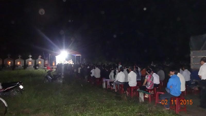 Lễ các đẳng tại Giáo xứ Phú Hòa