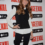 OIC - ENTSIMAGES.COM - Dawn Ward attend the Age of Kill - VIP film Screening inLondon on the 1st April 2015.Photo Mobis Photos/OIC 0203 174 1069
