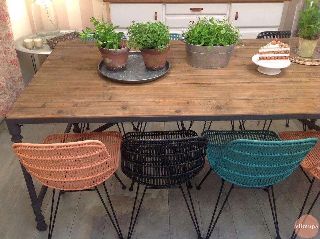 Nueva mesa comedor de madera reciclada for Mesa comedor 3 metros