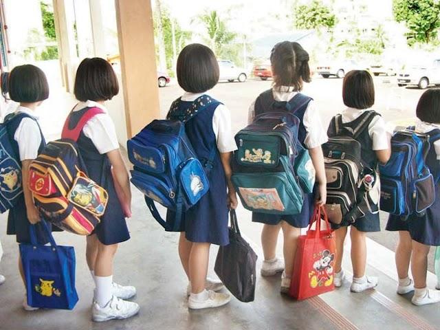 பள்ளி குழந்தைகளுக்கு ஸ்கூல் பேக் அதிக எடை கூடாது : மத்திய அரசு புது விதிமுறை