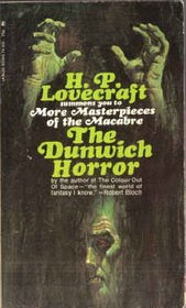 Cover of Howard Phillips Lovecraft's Book The Dunwich Horror