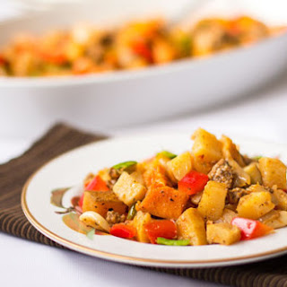 Roasted Vegetables with Mexican Chorizo