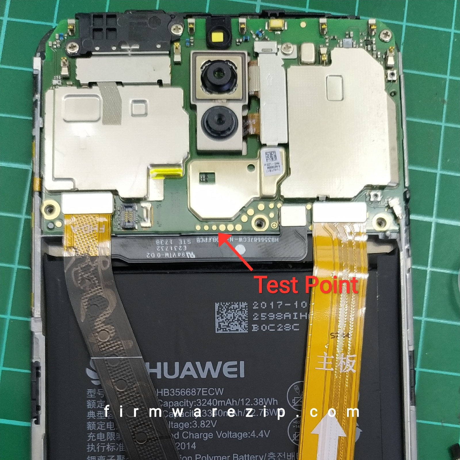 huawei rne-l22 test point
