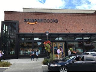 Amazon Books in Seattle!