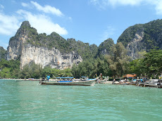 Our last views of Railay as we head to Ko Lanta