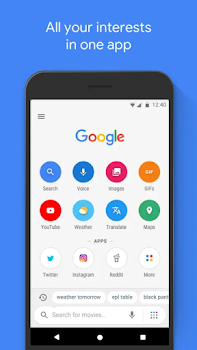 Features of Google Go App. A lighter and Faster version