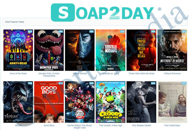 Soap2day 2021- Illegal movies downloading website