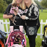 WWW.ENTSIMAGES.COM -   Queeniewoofwoof and  josie and kelly (@licksoohlala)    at       Pup Aid at Primrose Hill, London September 6th 2014Puppy Parade and fun dog show to raise awareness of the UK's cruel puppy farming trade. Pup Aid, the anti-puppy farming campaign started by TV Vet Marc Abraham, are calling on all animal lovers to contact their MP to support the debate on the sale of puppies and kittens in pet shops. Puppies & Celebrities Return To Fun Dog Show Fighting Cruel Puppy Farming Industry.                                              Photo Mobis Photos/OIC 0203 174 1069