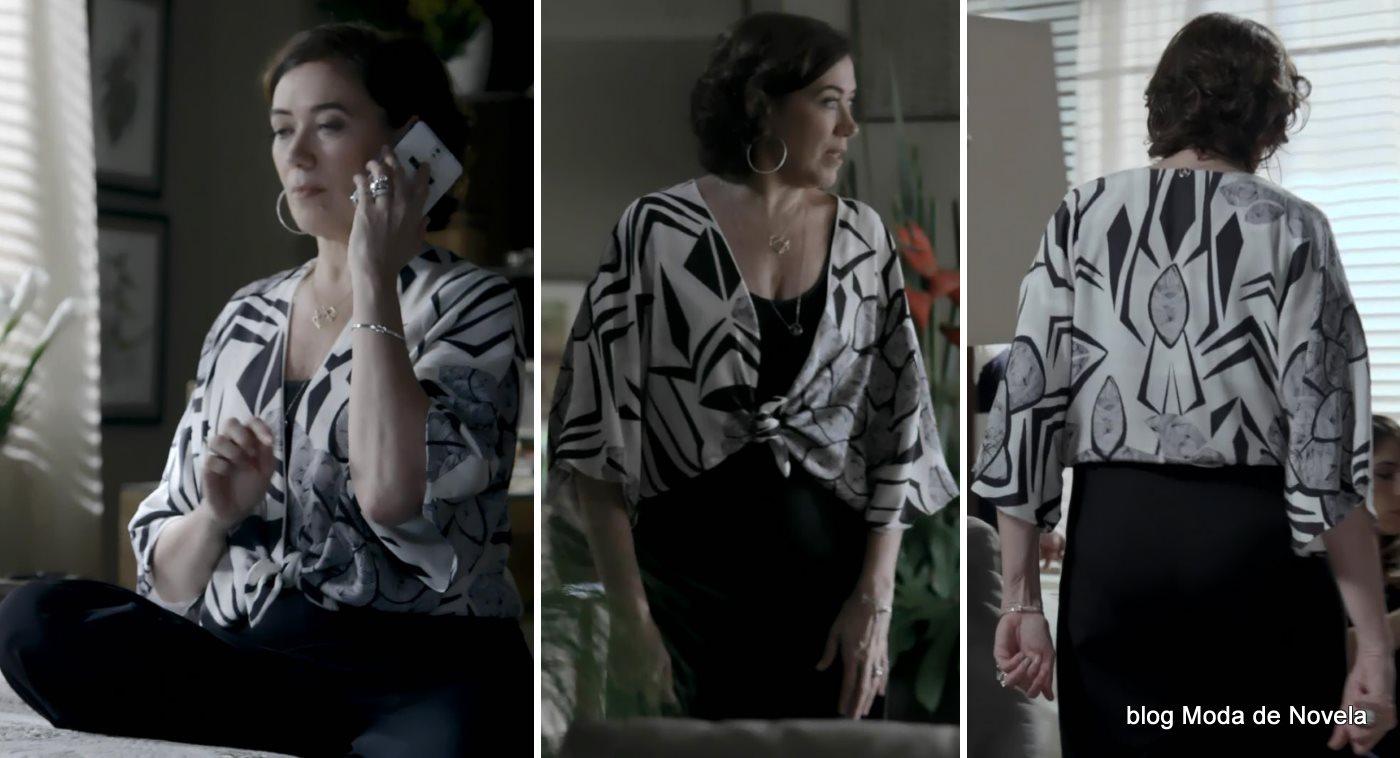 moda da novela Império - look da Maria Marta dia 12 de agosto