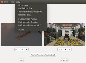 2Gif con soporte para Ubuntu Trusty Tahr - ayuda