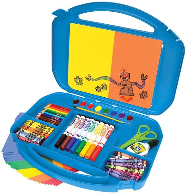 Bộ dụng cụ vẽ Ultimate Art Supply Case của Crayola