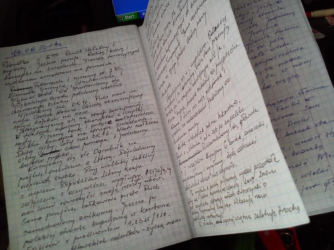notatki z podróży