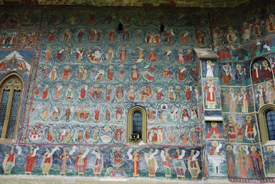 Kloster Sucevita, der Baum Jesses