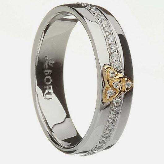 Trinity Knot Wedding Rings 46 Vintage Photo