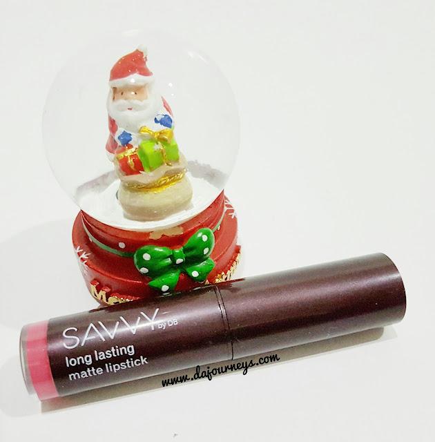 Savvy Long Lasting Matte Lipstick