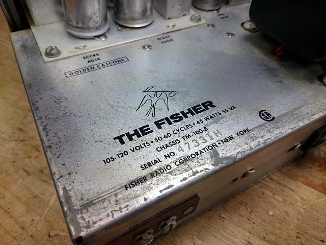 1963 Fisher FM-100-B Stereo FM Tuner Overhaul   RETROVOLTAGE