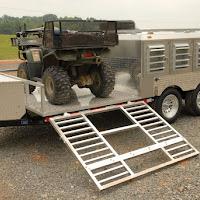 front ATV ramp down