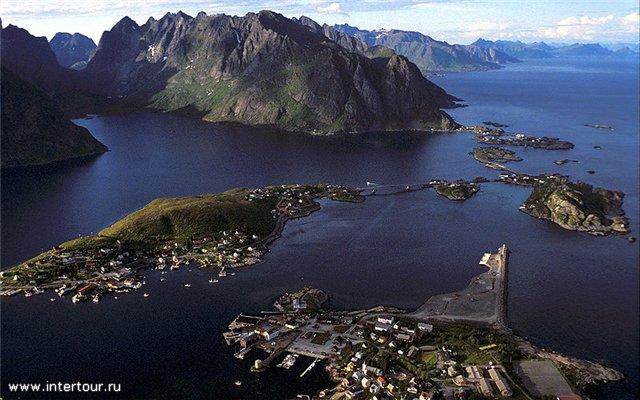 Деревня Рейне. Норвегия 2