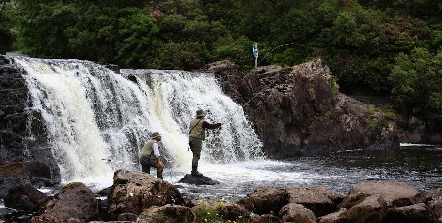 Aasleagh Falls Connemara Ireland