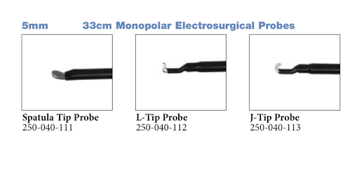 Monopolar Electrosurgical Probes