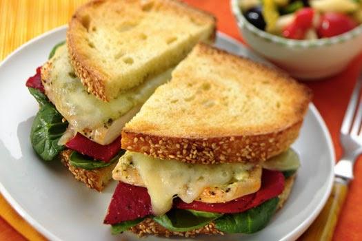 receta de sandwich en ingles
