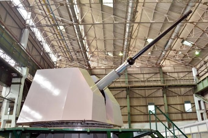 78-62 Super Rapid Gun Mount - SRGM - Indian Navy - 01