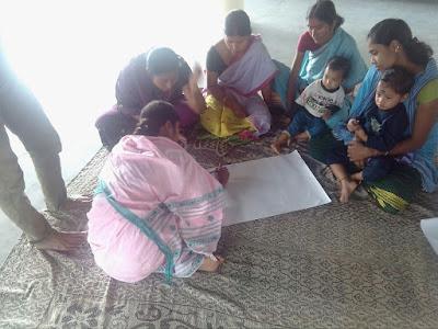 Dream building, self assessment and action plan at Tulsikharikata