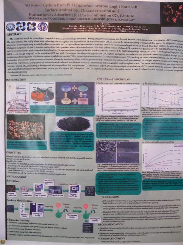 LEAN CC Poster: Activated Carbon from Pili (Canarium ovatum Engl.)