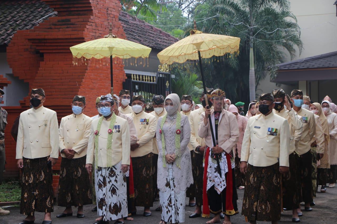 Kapolres Cirebon Kota, Hadiri Upacara Peringatan HUT Kabupaten Cirebon ke 539