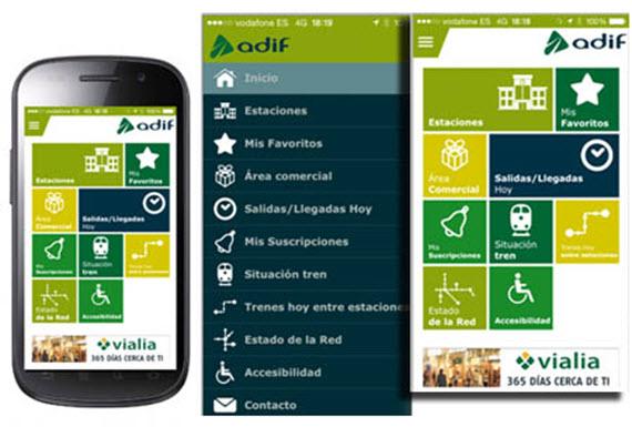 La app de Adif es premiada por Autelsi