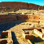 Chetro Ketl at Chaco Canyon, New Mexico