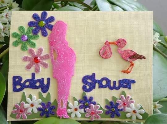Invitaciones bonitas para organizar 1 baby shower