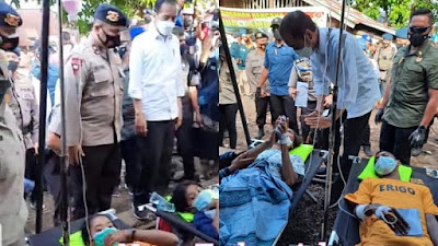 Pak Jokowi Pana Pai, Gawe Gere (Selamat Datang) Di Nusa Tadon Adonara: Hadirmu Menjadi Sukacita Kebangkitan Kristus