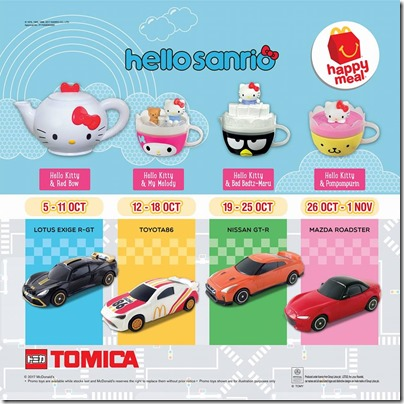 Sanrio Tomica Happy Meal
