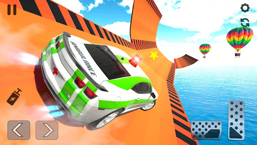 Ambulance Car Stunts: Mega Ramp Stunt Car Games 2.1 screenshots 20