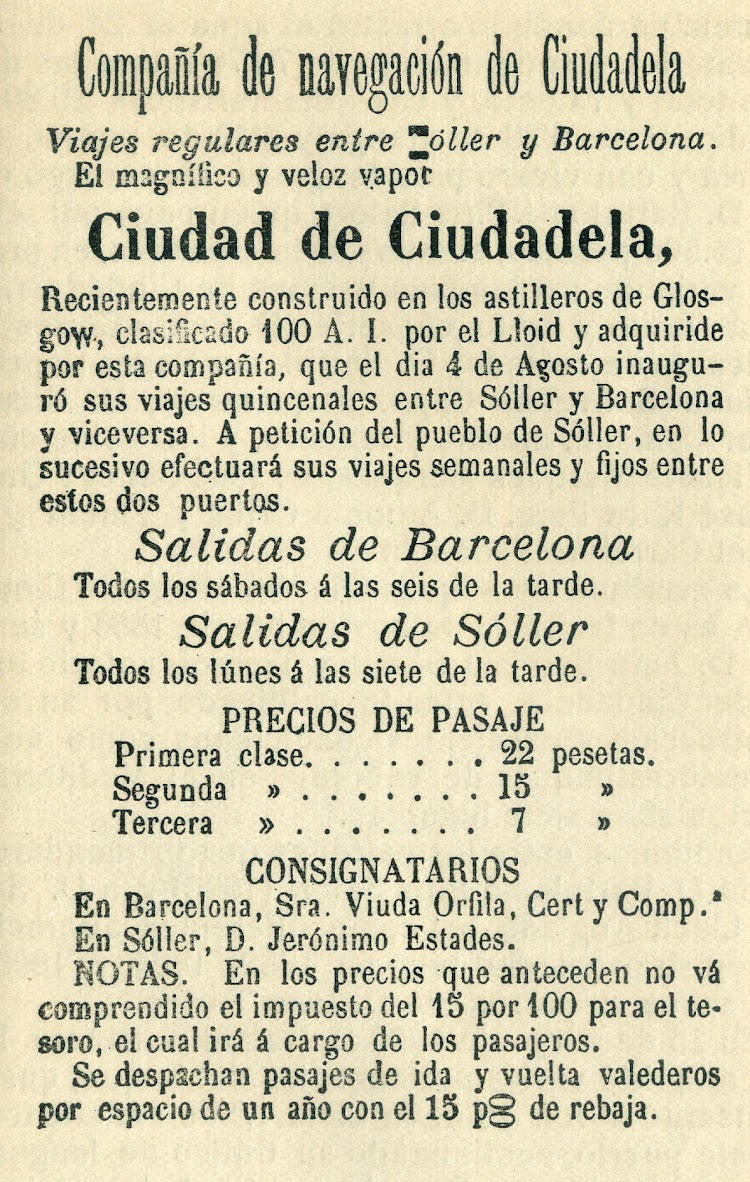 Otro anuncio de servicios. Del libro Los buques que han llevado el nombre de Ciudadela.jpg