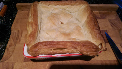 Gerry's Kitchen Cheat's Chicken Pie Easy Recipe
