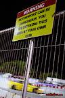 Motorsport Risk Signage