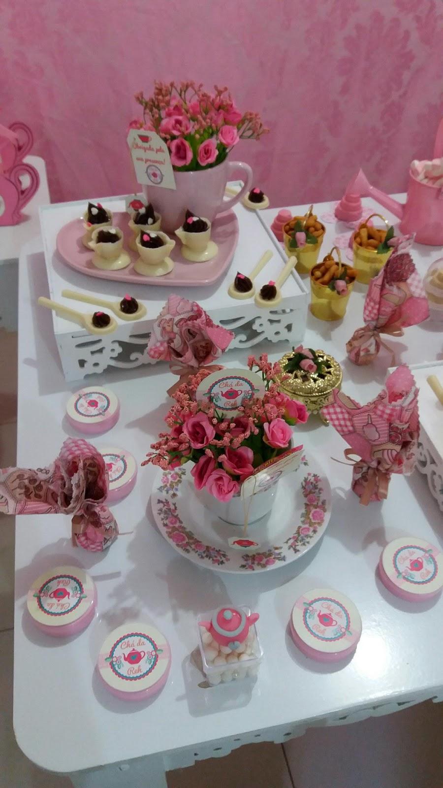 festa tema chá
