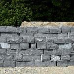 5 - Mur en pierre sèche en moellons équarris