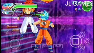 NEW!!! ISO TTT STYLE BT3 PPSSPP DRAGON BALL SUPER