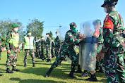 Dandim 0808/Blitar Pimpin Apel Gelar Kesiapan Pengamanan Pilkada Serentak Tahun 2020