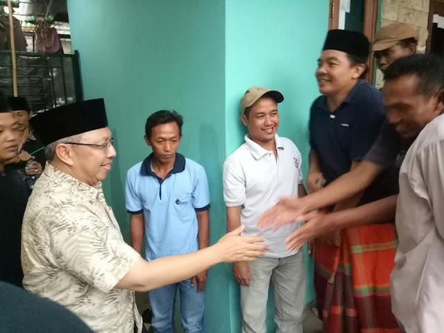 Woow, reses Mahfudz Jadi Ajang Curhat Warga Bojong Menteng