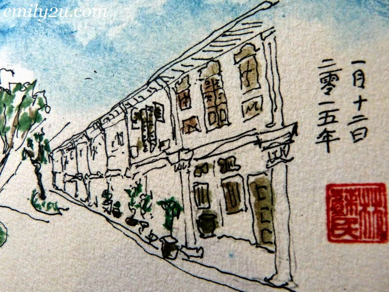Urbansketchers Singapore Dr Lim Su Min