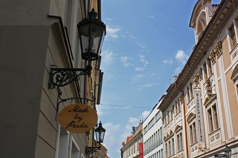 Walking in Prague