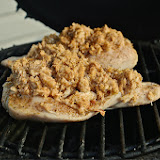 Crab Stuffed Chicken Breast Goes On The Grill